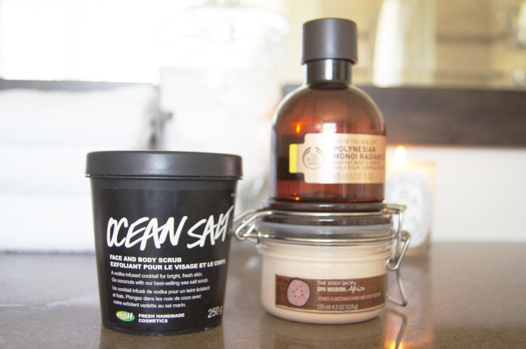 Lush Ocean Salt The Body Shop Moisturizer