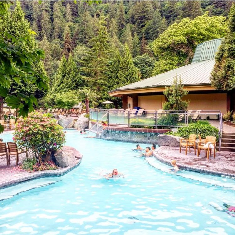 Harrison Hot Springs Pool